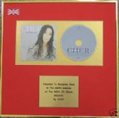 CHER - CD Album Award - BELIEVE